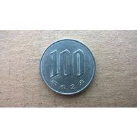 Япония 100 йен.  1990г. (D)