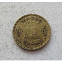 Марокко 10 франков 1371 (1952) 2