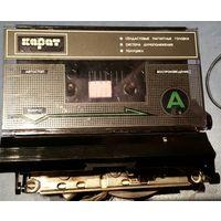 Лентопротяжный механизм кассетного магнитофона