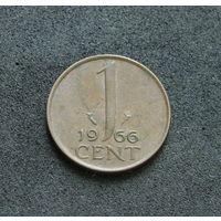 Нидерланды 1 цент 1966