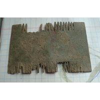 Расческа 18-19 век    , распродажа коллекции с 1 рубля, смотрите другие мои лоты !!2