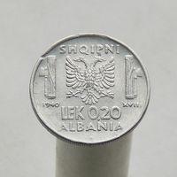 Албания 0.2 лека 1940 (оккупация Италией)