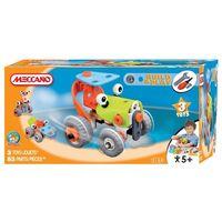 Конструктор Meccano(Франция) Веселый трактор 3 в 1,+4
