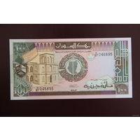 Судан 100 фунтов 1989 UNC