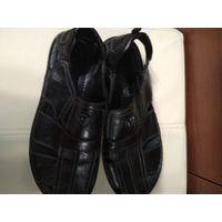 Туфли летние(макасины) р41, кожа