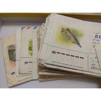 Несколько десятков писем и конвертов. СССР