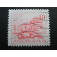 Югославия 1986 стандарт, погрузчик