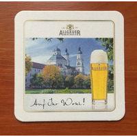 Подставка под пиво Allgauer-Brauhaus No 5