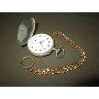 Часы карманные серебряные кон.19 века.