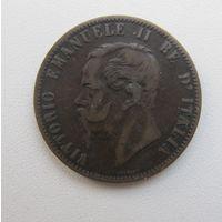 10 чентезимо 1867,Италия,С РУБЛЯ