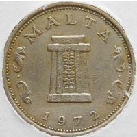 Мальта 5 центов 1972 год.