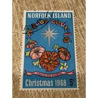 Норфолкского острова 1968. Рождество