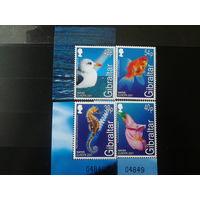 Гибралтар 2001г. Европа. Вода. полная серия.