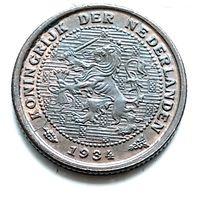 Нидерланды 1/2 цента, 1934 1-11-17