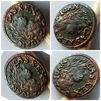 Шеляг, боратинка, Литва 1660 год, нечастая, в хорошем состоянии!!! Оригинал 100%!!!