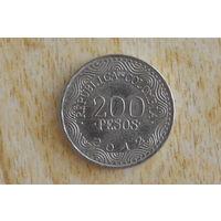 Колумбия 200 песо 2012