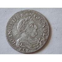 6 грошей 1680 г. , 4 гроша - вместо 6-ти  редкие  R-2 ( коллекционное состояние ! )