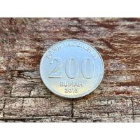 Индонезия. 200 рупий 2016.