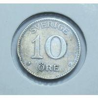 Швеция, 10 Оре ( Эре ) 1936 год