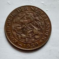 Суринам 1 цент, 1959 2-12-51