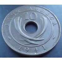 Британская Восточная Африка. 10 центов 1941