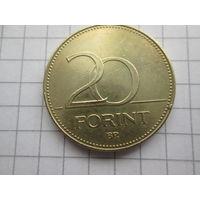 ВЕНГРИЯ 20 ФОРИНТОВ 1995 ГОД
