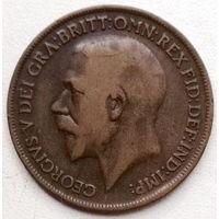 Великобритания 1 пенни 1917