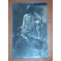 Старая-фото открытка 1928 год