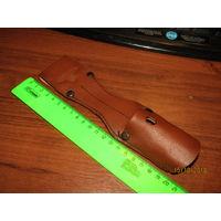 Подвес(жаба) для штык-ножа от К-98.Натуральная кожа.Клеймо.
