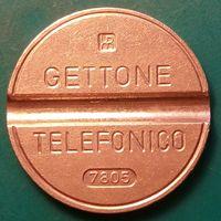 Итальянский телефонный жетон