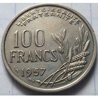 Франция 100 франков, 1957        ( 5-2-3 )