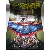 Постер Batman Arkham Asylum