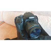 Фотоаппарат Canon 600D + 2 обектива, сумка и т.д.
