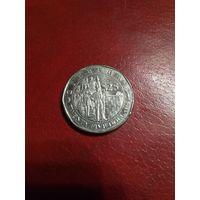Зимбабве 25 долларов 2003 год.