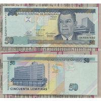 Распродажа коллекции. Гондурас. 50 лемпир 2008 года (P-94 Аb - 2004-2010 Issue)