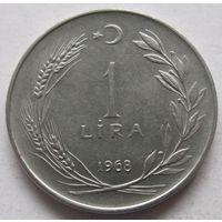 Турция 1 лира 1968