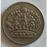 Швеция 50 эре 1953 серебро