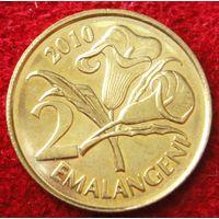 6819:  2 эмалангени 2010 Свазиленд