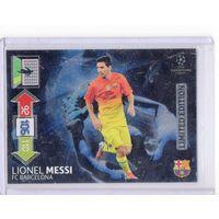 Карточка Limited Edition PANINI Лига Чемпионов УЕФА 2012-2013. Adrenalyn XL -  le-lm Lionel Messi(Лионель Месси) ФК Барселона.