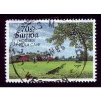 1 марка 1995 год Самоа 798