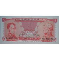 Венесуэла 5 боливар 1989 г. (g)