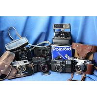 Коллекция разных фотоаппаратов . С РУБЛЯ! АУКЦИОН!!!