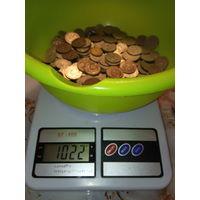1 кг . очень красивых монеток СССР.С 1 рубля.