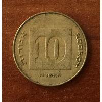 Израиль, 10 агорот 1991