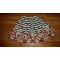 Женская юбка.Разноцветная. 44-46 размер.