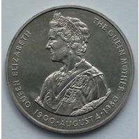 Фолклендские острова. 50 пенсов. 80 лет со дня рождения Королевы Матери. 1980