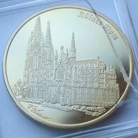 "Памятная красивая большая медаль ""Rolner Dom"" - 50мм."