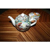 Чайник Китай ручная роспись