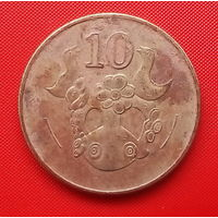 50-36 Кипр, 10 центов 2002 г.