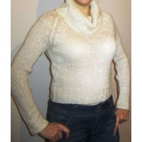 Красивый кремовый свитер, свитшот, кофта 44р
